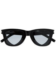 солнцезащитные очки Heart Saint Laurent