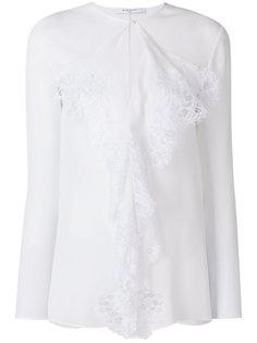 блузка с кружевом Givenchy