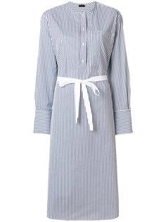 платье-рубашка в полоску Joseph