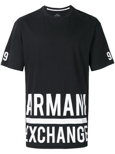 logo detail T-shirt Armani Exchange