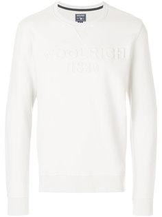 embossed logo sweatshirt  Woolrich