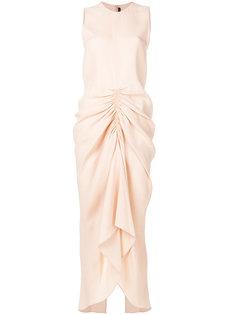 присборенное платье  Joseph