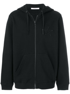 star embroidered zip hoodie Givenchy