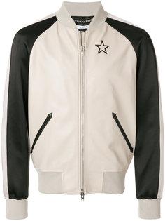 куртка-бомбер с вышивкой звезды Givenchy
