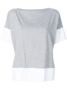 футболка колор-блок  Le Tricot Perugia