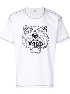 футболка с тигром  Kenzo