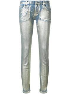 джинсы скинни с эффектом металлик Faith Connexion
