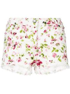 джинсовые шорты с цветочным принтом Faith Connexion