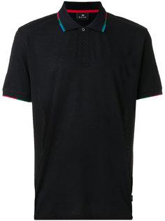 футболка-поло с контрастной отделкой  Ps By Paul Smith