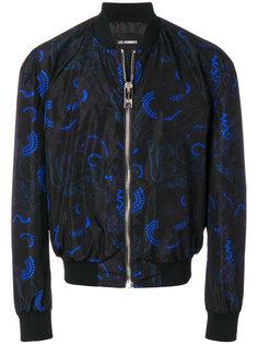 куртка-бомбер с принтом Les Hommes