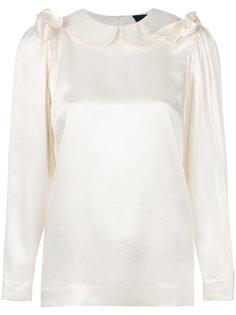 блузка с круглым воротником  Simone Rocha