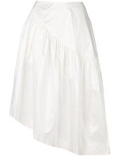 юбка с оборкой по краю  Simone Rocha
