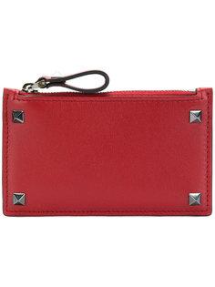 Valentino Garavani Rockstud zip wallet Valentino