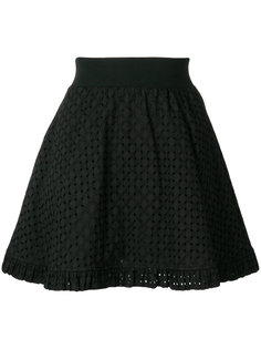 юбка мини А-образного силуэта Love Moschino