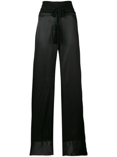 flared trousers Ann Demeulemeester