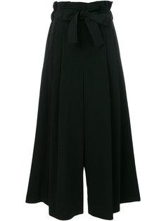 wide leg tied waist trousers Comme Des Garçons Noir Kei Ninomiya