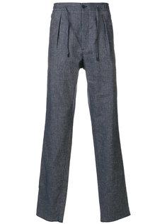 брюки с боковыми вставками  Fendi