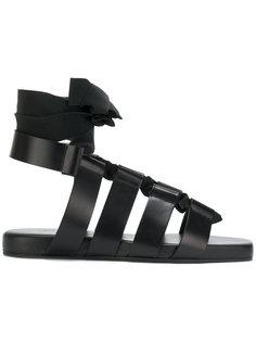 гладиаторские сандалии Jil Sander