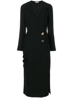fitted waist midi dress Rejina Pyo