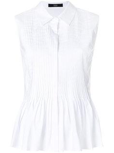 плиссированная блузка без рукавов Steffen Schraut