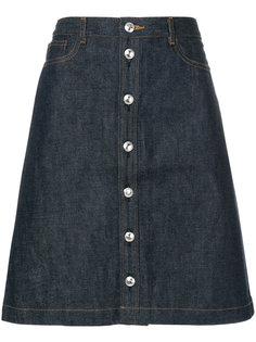 buttoned denim skirt A.P.C.