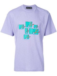 футболка с принтом логотипа Martine Rose
