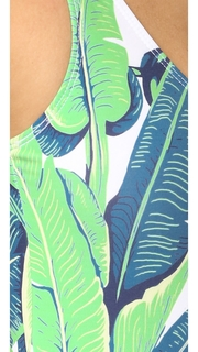 CHRLDR Banana Leaf One Piece