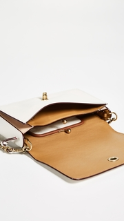 Coach 1941 Signature Leather Dinky Cross Body Bag