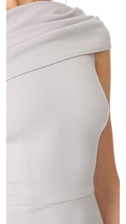 Katie May Layla Asymmetrical Off the Shoulder Dress