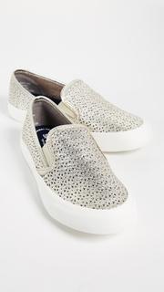 Sperry Seaside Nautical Perf Slip On Sneakers