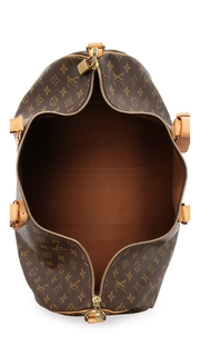 What Goes Around Comes Around Heritage Louis Vuitton Monogram Keepall 55 Bag