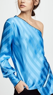 Yigal Azrouel One Sleeve Asymmetrical Top