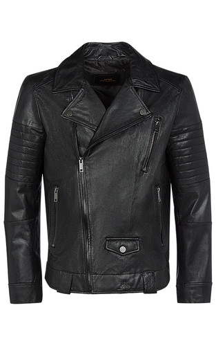 Куртка-косуха из натуральной кожи