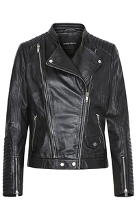 Женская кожаная куртка-косуха La Reine Blanche