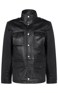 Мужская куртка из натуральной кожи Jorg Weber