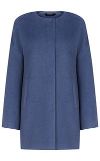 Шерстяное пальто Pompa