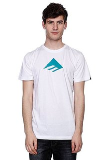 Футболка Emerica Triangle 7.0 Tee White/Blue