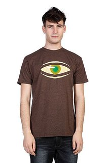 Футболка Emerica Heritic Tee Brown/Heather