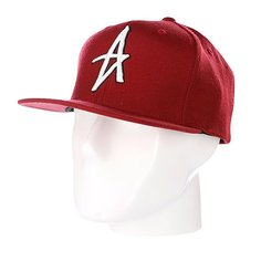 Бейсболка Altamont Decades Snapback Hat Red