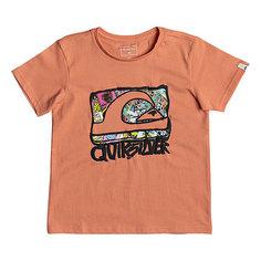 Футболка детская Quiksilver Wemi Boy Cadmium Orange