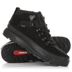 Ботинки низкие Element Donnelly Black