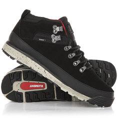 Ботинки низкие Element Donnelly Black/Grey