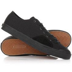 Кеды кроссовки низкие Element Spike Black