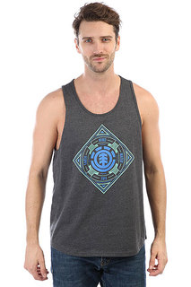 Майка Element Emblem Tank Charcoal Heathe