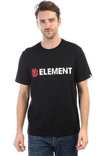 Футболка Element Horizontal Flint Black