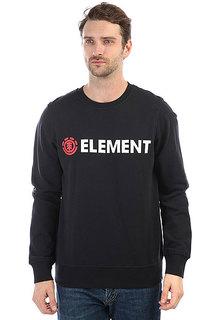 Толстовка классическая Element Horizontal Cr Flint Black