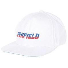 Бейсболка с прямым козырьком Penfield Simmons Cap White