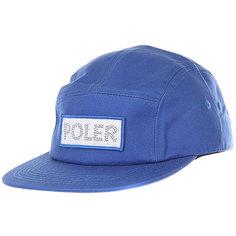 Бейсболка с прямым козырьком Poler Tracker Camper Royal Blue