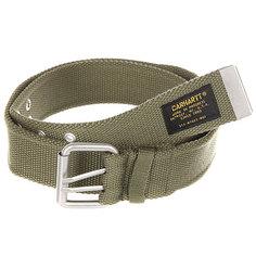 Ремень Carhartt WIP Camp Belt Rover Green