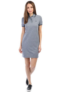 Платье женское Fred Perry Twin Tipped Grey